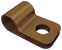 Foto Lightning Protection Earthing Rods Accessories 14 one_hole_cable_clip_copper_1